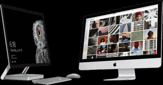 mac VS PC Devices