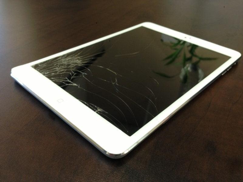 ipad cracked