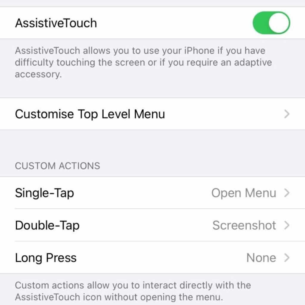 assertive touch