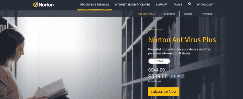 antivirus best windows 10 - Norton