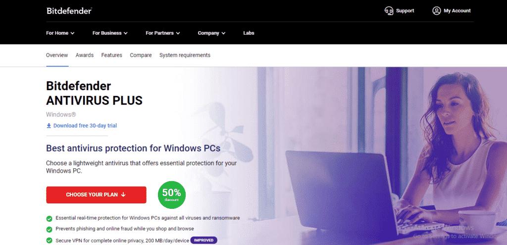 antivirus best - Bitdefender