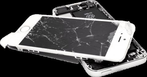 broken iphone lcd screen (Custom) (1)
